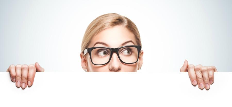 Woman Overlooking